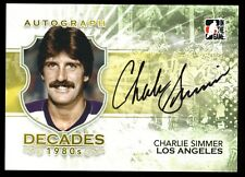 2011 ITG Decades 1980's CHARLIE SIMMER Los Angeles AUTO