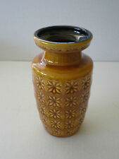 VINTAGE SCHEURICH WEST GERMAN ART POTTERY VASE GERMANY