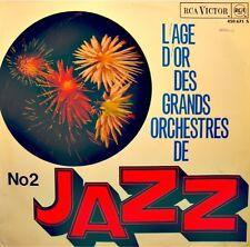 L'AGE D'OR DES GRANDS ORCHESTRES DE JAZZ VOL2 kansas city breakdown LP 1965 VG++