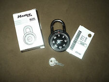MASTER COMBINATION SCHOOL LOCK 1525 KEY PADLOCK AND CONTROL MASTER KEY V18