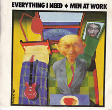 MEN AT WORK Everything I Need / Sail To You 45