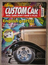 Custom Car February 2017 Ford Popular '32 Ford Roadster Model A Tudor Sedan