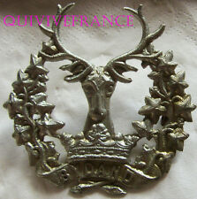 dIN077 - WWII GORDON HIGHLANDERS SCOTTISH CAP BADGE