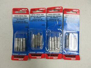 Door Check Pin Dorman 38434 fits 94-01 Jeep Cherokee - Lot of 4 packs