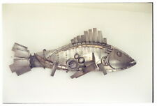 Snapper fish sculpture
