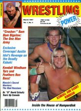 KENDALL & BARRY WINDHAM Wrestling Power Magazine March 1987 Vol 1 No 4