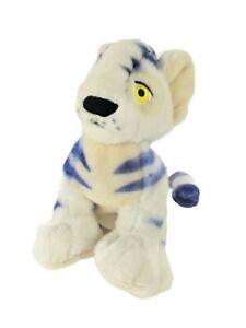"2002 Neopets KOUGRA Blue Striped Tiger 10"" Plush Toy Clean RARE"