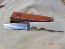 ANZA  HANDMADE FIXED  BLADE KNIFE BONE HANDLE #853 MODEL 713