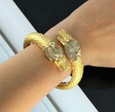 Bracciali con diamanti tondi di colore fantasia in oro giallo