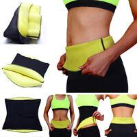 Women Hot Sweat Thermo Neoprene Body Shaper Gym Slimming Waist Trainer Slim Belt