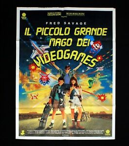 THE WIZARD italian poster Fred Savage Slater Videogames Super Mario Bros 3 C31
