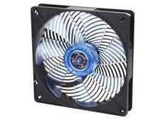 Silverstone AP141 140mmx25mm Transparent blue UV fan blades, black frame Fan