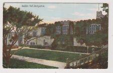 Derbyshire postcard - Haddon Hall