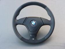 Lederlenkrad M Lenkrad BMW E34 E36 Z3 mit Airbag NEU LEDERRBEZUG mit ALCANTARA r