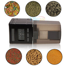 Auto Automatic Aquarium Fish Tank Digital LCD Display Food Feeder Feeding Timer