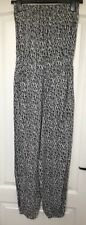 """""""Accessorize"""" Jumpsuit, Size XS, Grey/Black/White, Elasticated chest/waist/ankle"""