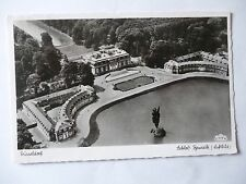 Ansichtskarte Düsseldorf Schloß Benrath Luftbild 1956