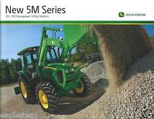 Farm Tractor Brochure - John Deere - 5065M et al - 5M series  c2010 (F3841)