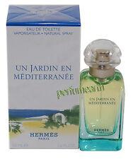 UN JARDIN EN MEDITERRANEE 1.7/1.6 OZ EDT SPRAY FOR WOMEN NEW IN A BOX BY HERMES