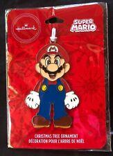 2019 Hallmark Enameled Metal Christmas Tree Ornament Super Mario - New