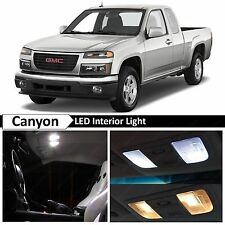 12x White LED Light Interior Package Kit for 2004-2012 GMC Canyon