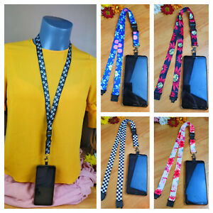 Universal Mobile Phone Neck Lanyard Strap with Unique Patch Tab multiple listing