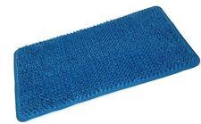 Tapis de bain confort 65 x 37 cm, avec effet massant extensions en caoutchouc (bleu)