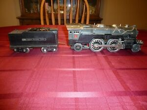Lionel Standard Gauge 385E Loco with 385W Tender