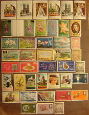 Barbados 41 Different Mint Never Hinged F-VF