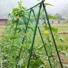 AM_ Garden Nylon Netting Trellis Net Vegetables Bean Plants Climbing Supporting