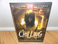 Chilling Classics - 50 Movie Pack (DVD, 2005, 12-Disc Set) BRAND NEW