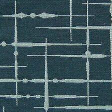 Luna Textiles Hatch Helm Wool Blend Blue Upholstery Fabric Free Ship! (Db428)