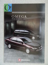 Vauxhall Omega Brochure 1994 -Saloons/Estates - Select,GLS,CD,CDX,Elite.71 pages