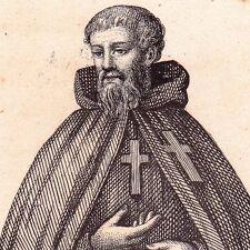 Gravure XIXe Chanoine Hospitalier Saint Jean Baptiste Coventry Angleterre  1838 72fb8e64b0b