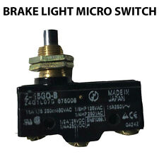 EZGO Golf Cart Brake Light MICRO SWITCH for Aftermarket Light Kits