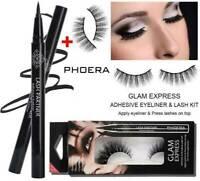 PHOERA Self-Adhesive Magic Eyeliner Pen Waterproof No Glue Needed Eye Lashes AU