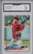 2018 Topps Update Series - Shohei Ohtani - Angels - US1 - RC - Gem Mint - GMA 10