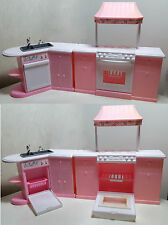 Mobili Barbie Folding Pretty House, Kitchen Playset, Arcotoys by Mattel 1996