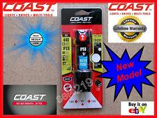 Coast PolySteel 400 LED Flashlight Light 440 Lumen Twist Focus 4 AAA 20765 BLACK