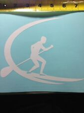 Paddle Boarding  SUP Decal Sticker F/ Car Truck Suv Computer