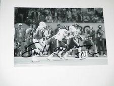 1985 Chicago Bears JIM MORRISSEY Signed 4x6 Photo NFL AUTOGRAPH