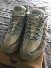 2003 Nike Air Max 95 Chlorine Blue Grey Coral Sz 12 Used 609048-038