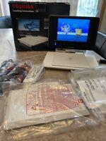 "Toshiba SDP93S Portable 9"" Full Swivel Screen DVD Player Perfect"