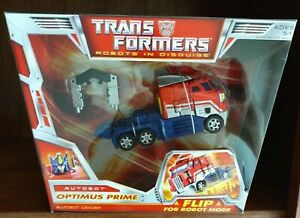 🌸 Transformers Classics Generations Optimus Prime Voyager Figure MISB