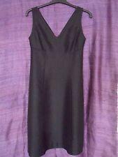 Stunning Black Silk / Linen 'CLUB MONACO' Dress USA Size 0 - Worn Once!