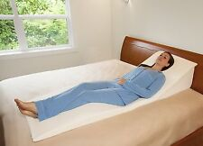 Memory Foam Pillow Bed Wedge System Comfort Sleep Adjustable Back Support Lumbar