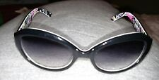 Vera Bradley Sunglasses Emily Purple Punch Pattern ** Cute**