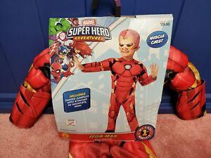 Marvel Super Hero Adventures Iron Man Halloween Costume My First Marvels 2T-3T