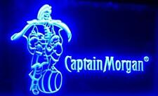 Captain Morgan Beer LED Neon Light Sign Plate Flag Bar Club Pub Old Logo Rum