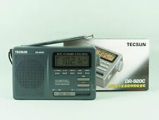 TECSUN DR-920C digital Shortwave World Multi-Bands Radio (Grey)